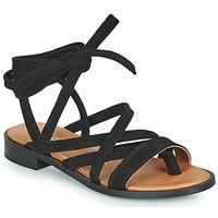 Cipők Női Szandálok / Saruk Minelli HURIA Fekete