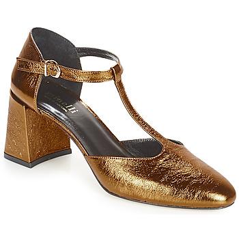 Cipők Női Félcipők Minelli GAELANE Bronz
