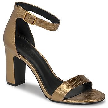 Cipők Női Szandálok / Saruk Minelli CHELYE Bronz