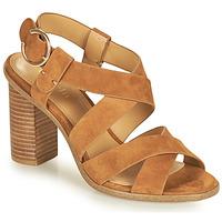 Cipők Női Szandálok / Saruk Minelli CLAVIA Barna