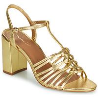 Cipők Női Szandálok / Saruk Minelli THERENA Arany