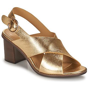 Cipők Női Szandálok / Saruk Minelli THIVIYA Arany