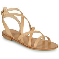 Cipők Női Szandálok / Saruk Minelli HOULLY Bézs