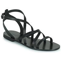 Cipők Női Szandálok / Saruk Minelli HOULLY Fekete