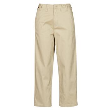 Ruhák Női Chino nadrágok / Carrot nadrágok Tommy Jeans TJW HIGH RISE STRAIGHT Bézs