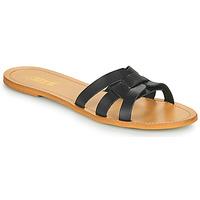 Cipők Női Papucsok So Size MELINDA Fekete