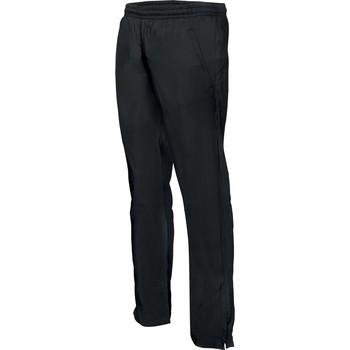 Ruhák Férfi Futónadrágok / Melegítők Proact Pantalon de survêtement ajustée noir