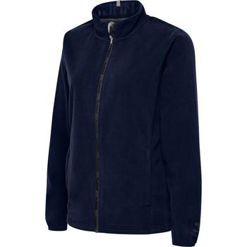 Ruhák Női Polárok Hummel Veste femme  full zip North Fleece bleu marine