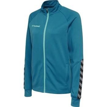 Ruhák Női Melegítő kabátok Hummel Veste femme  Zip hmlAUTHENTIC Poly bleu
