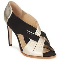 Cipők Női Félcipők Moschino MINEK Fekete  / Arany
