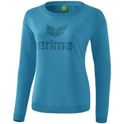 Ruhák Női Hosszú ujjú pólók Erima Sweat-shirt femme  Essential bleu clair/bleu