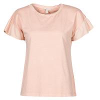 Ruhák Női Rövid ujjú pólók Esprit T-SHIRTS Rózsaszín