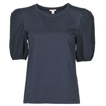 Ruhák Női Rövid ujjú pólók Esprit T-SHIRTS Fekete