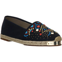 Cipők Női Gyékény talpú cipők Giuseppe Zanotti E66084 NAVY beige