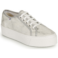 Cipők Női Rövid szárú edzőcipők Yurban SUPERTELA Ezüst
