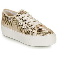 Cipők Női Rövid szárú edzőcipők Yurban SUPERTELA Arany