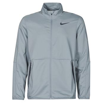 Ruhák Férfi Melegítő kabátok Nike DF TEAWVN JKT Szürke / Fekete