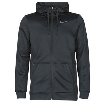 Ruhák Férfi Pulóverek Nike TF HD FZ Fekete  / Szürke