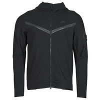 Ruhák Férfi Melegítő kabátok Nike NSTCH FLC HOODIE FZ WR Fekete