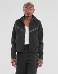Ruhák Női Melegítő kabátok Nike NSTCH FLC WR ESSNTL FZ HDY Fekete