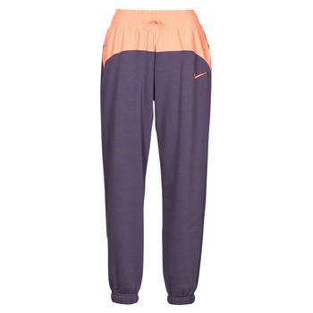 Ruhák Női Futónadrágok / Melegítők Nike NSICN CLSH JOGGER MIX HR Lila / Rózsaszín