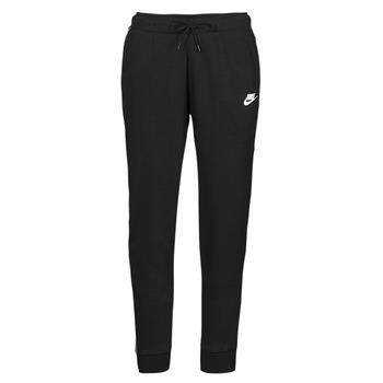 Ruhák Női Futónadrágok / Melegítők Nike NSMLNESSNTL FLC MR JGGR Fekete  / Fehér