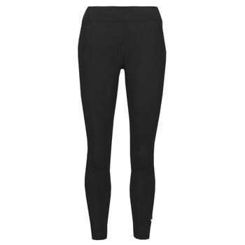 Ruhák Női Legging-ek Nike NSESSNTL 7/8 MR LGGNG Fekete  / Fehér