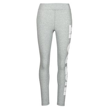 Ruhák Női Legging-ek Nike NSESSNTL GX HR LGGNG JDI Szürke / Fehér