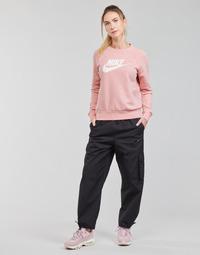 Ruhák Női Futónadrágok / Melegítők Nike NSICN CLASH PANT CANVAS HR Fekete  / Szürke