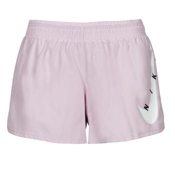 Ruhák Női Rövidnadrágok Nike SWOOSH RUN SHORT Lila / Fehér