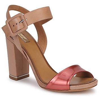 Cipők Női Szandálok / Saruk Eva Turner  Bronz / Piros