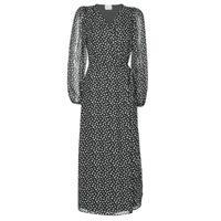 Ruhák Női Hosszú ruhák Vila VICELIMA Fekete