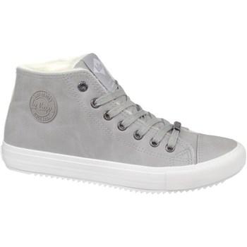 Cipők Női Magas szárú edzőcipők Lee Cooper LCJL2031013 Szürke