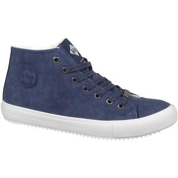Cipők Férfi Magas szárú edzőcipők Lee Cooper LCJL2031012