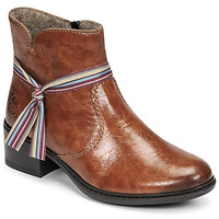 Cipők Női Bokacsizmák Rieker  Barna