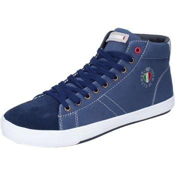 Cipők Férfi Magas szárú edzőcipők Armata Di Mare BJ84 Kék