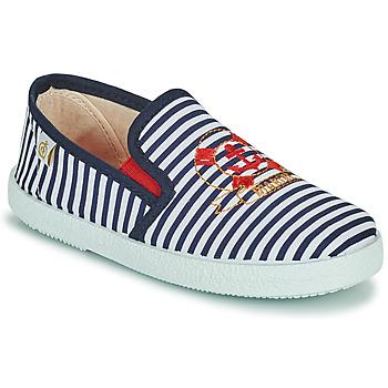 Cipők Fiú Rövid szárú edzőcipők Citrouille et Compagnie OCILO Tengerész