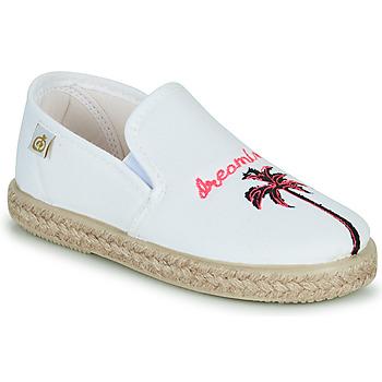 Cipők Lány Balerina cipők  Citrouille et Compagnie OWAT Fehér