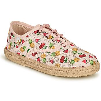 Cipők Lány Rövid szárú edzőcipők Citrouille et Compagnie OAKO Sokszínű
