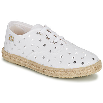 Cipők Lány Rövid szárú edzőcipők Citrouille et Compagnie OUAKA Ezüst