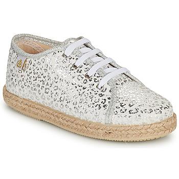 Cipők Lány Rövid szárú edzőcipők Citrouille et Compagnie OKOKI Ezüst