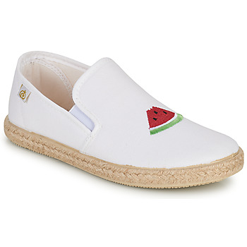 Cipők Lány Balerina cipők  Citrouille et Compagnie OFADA Fehér