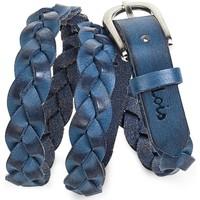 Textil kiegészítők Női Övek Lois Braided Leather Kék
