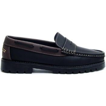 Cipők Férfi Mokkaszínek Montevita 68078 BLACK