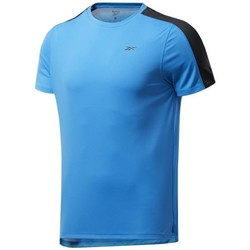 Ruhák Férfi Rövid ujjú pólók Reebok Sport Wor SS Tech Tee Kék