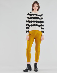 Ruhák Női Chino nadrágok / Carrot nadrágok Only ONLGLOWING Citromsárga