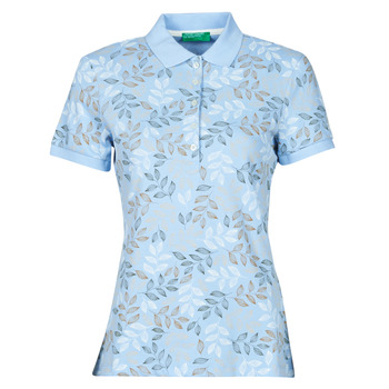 Ruhák Női Rövid ujjú galléros pólók Benetton CHOLU Kék