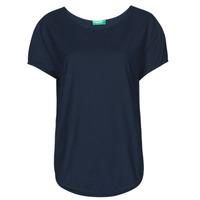 Ruhák Női Rövid ujjú pólók Benetton 3BVXE19E6-016 Kék