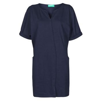 Ruhák Női Rövid ruhák Benetton CAMILA Tengerész