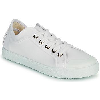 Cipők Női Rövid szárú edzőcipők Dream in Green OBRINDILLE Fehér
